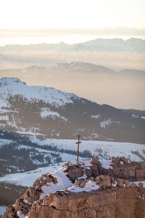 Бесплатное стоковое фото с HD-обои, Альпы, вечер