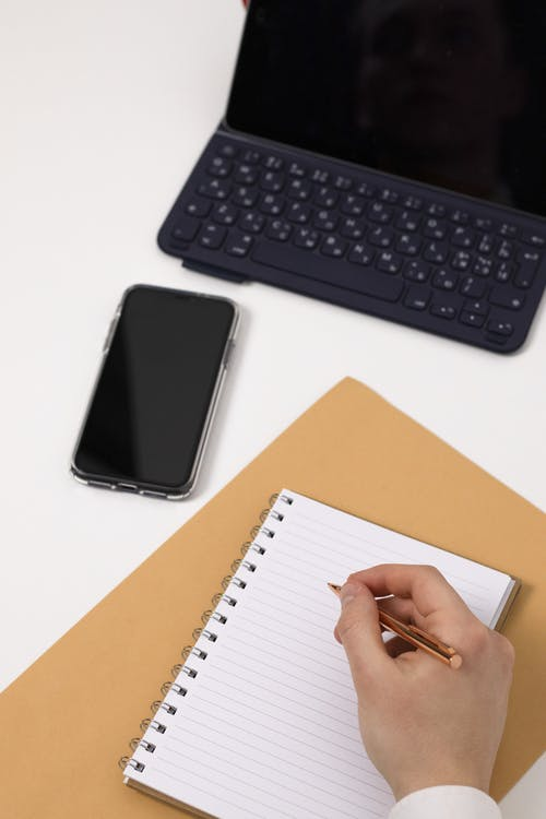 Free stock photo of blank page, business, computer, connection