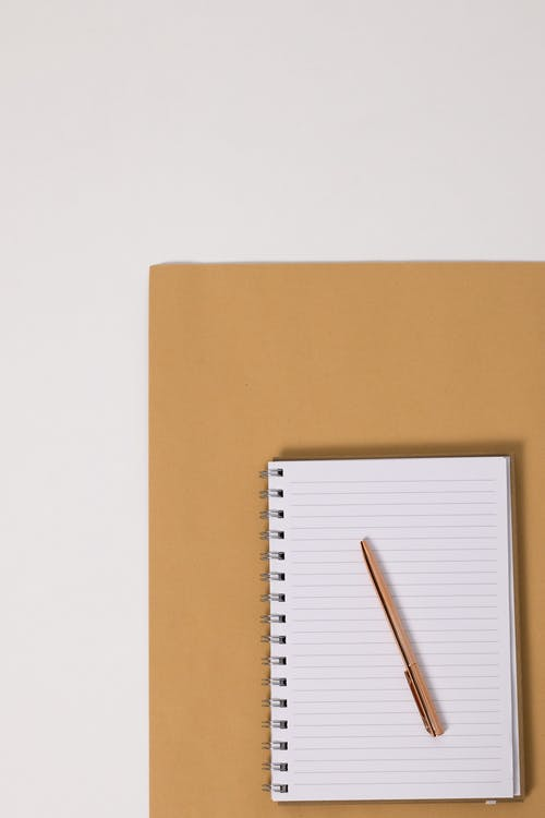 Free stock photo of ballpen, blank, blank page, business