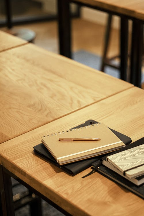 Free stock photo of book bindings, business, chair, composition