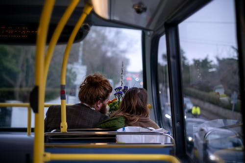 Photos gratuites de amour, autobus, automne