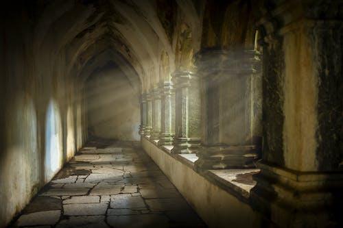 Photos gratuites de à l'intérieur, abandonné, abbaye