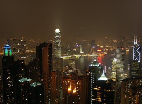 Cityscape Scenery at Night