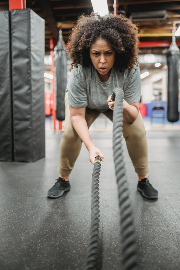 how to maintain natural hair at the gym