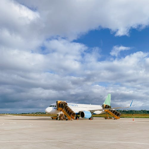 Free stock photo of airplane, airport, airport terminal