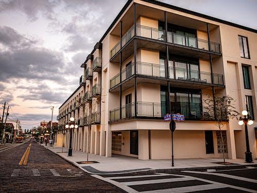 Free stock photo of building, street