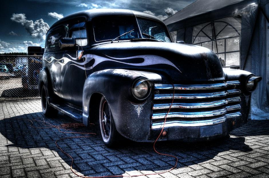 american, car, classic
