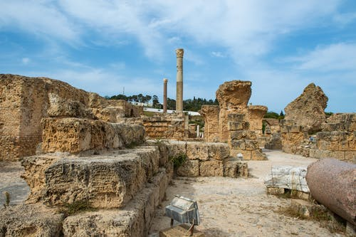 Remains of medieval Carthage in Turkey