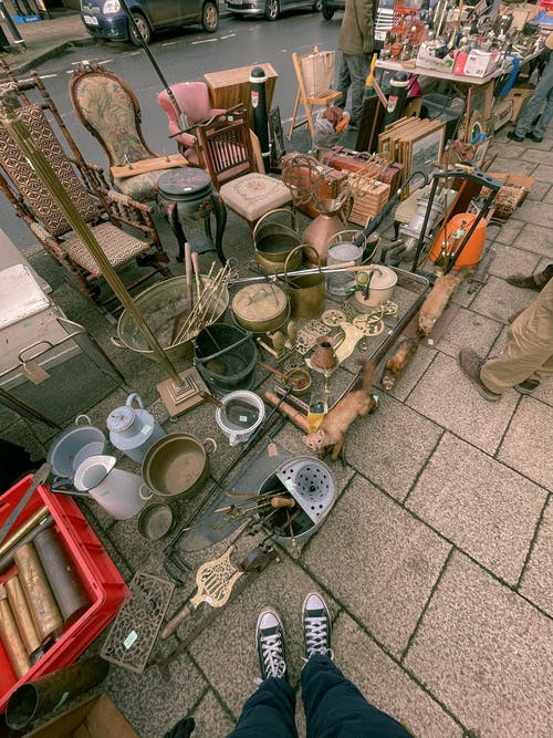 Free stock photo of antiques, antiques market, art