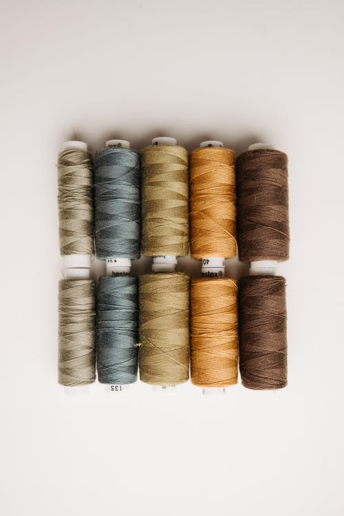 Different Colors of Sewing Threads