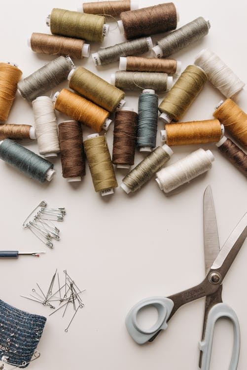 Free stock photo of arts and crafts, bobbin, buttons