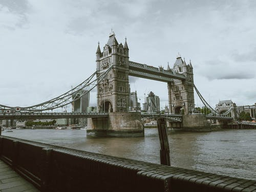 The Tower Bridge in England