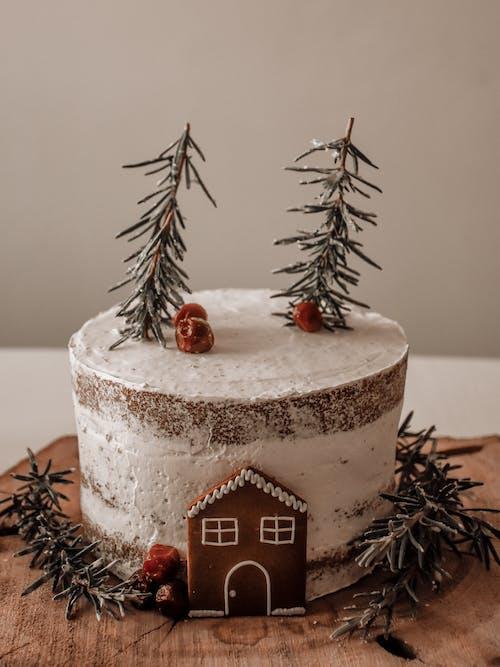 Gratis stockfoto met bakken, cake, cake topper