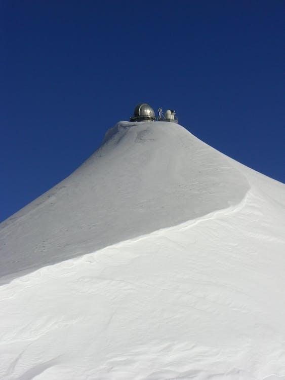 alpin, ciel, ciel bleu