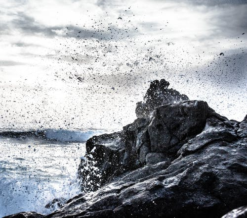 Gratis arkivbilde med bølger, hav, kyst