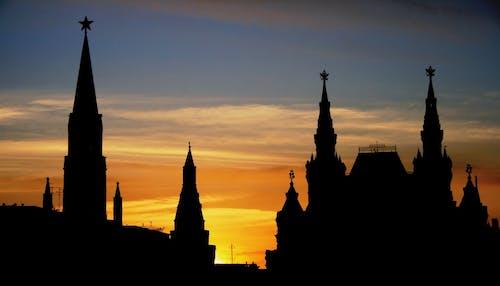 Foto stok gratis awan, Fajar, langit, matahari terbenam