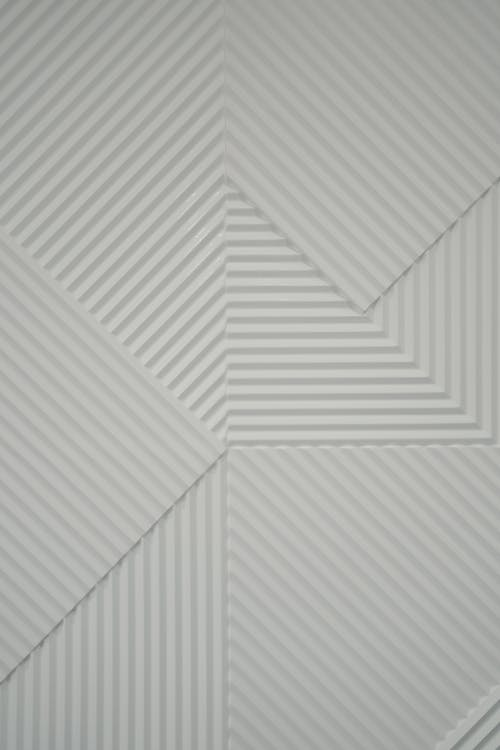 White and Gray Checkered Textile