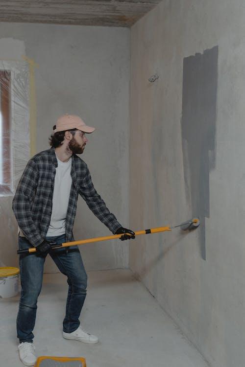 Kostenloses Stock Foto zu arbeiten, bauarbeiter, beton