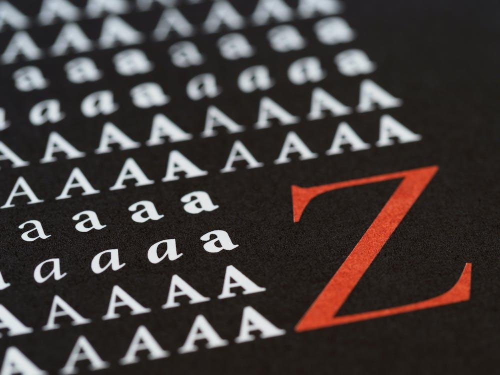 Kostnadsfri bild av abstrakt, adobe, alfabet