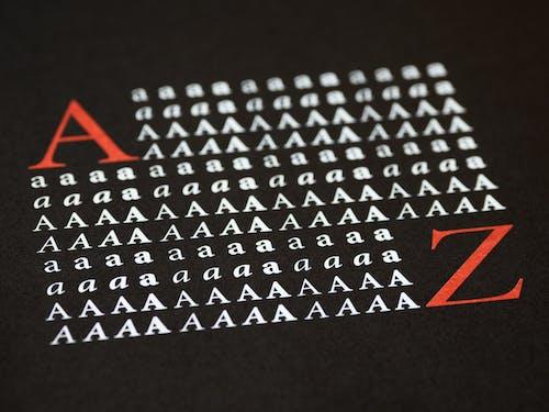 Foto d'estoc gratuïta de adobe, alfabet, assoliment