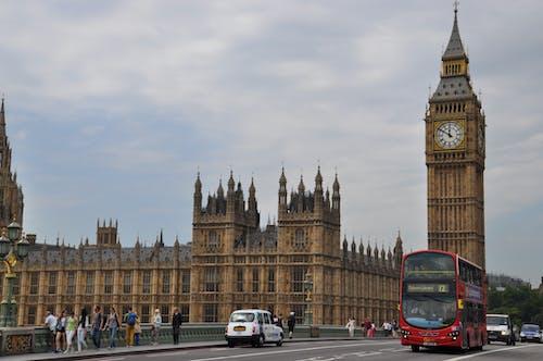 Imagine de stoc gratuită din Anglia, atracție turistică, autobuz