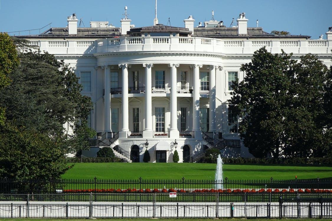 フェンス, ホワイトハウス, ランドマークの無料の写真素材