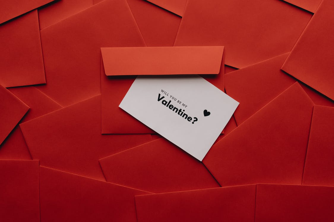 Card On Top Of An Envelope