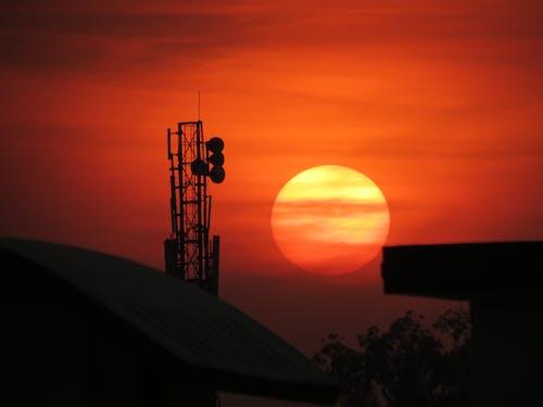 Foto d'estoc gratuïta de alba, capvespre, posta de sol, sol