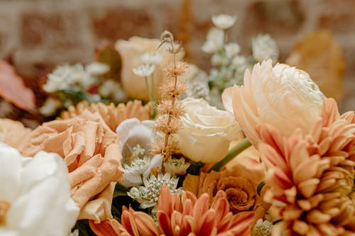 Bouquet of fresh flowers for romantic event