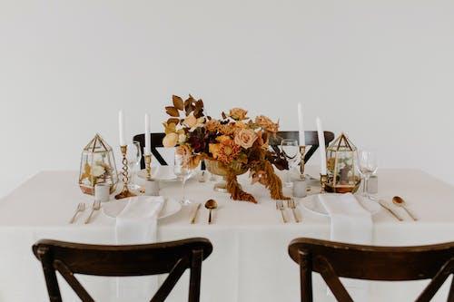 Foto d'estoc gratuïta de banquet, boda, branca