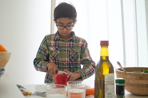兒童, 刀, 切割 的 免費圖庫相片