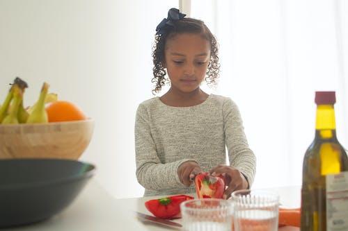 Gratis stockfoto met doorsnijden, eten, groente