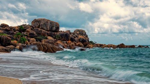 多雲的天空, 天性, 岩石形成 的 免费素材图片