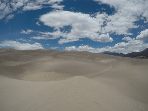 Free stock photo of clouds, desert clouds, great sand dunes