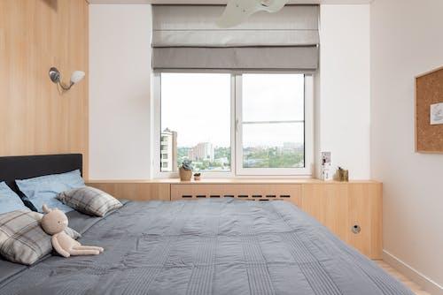 Foto stok gratis ambang jendela, Apartemen, bagian