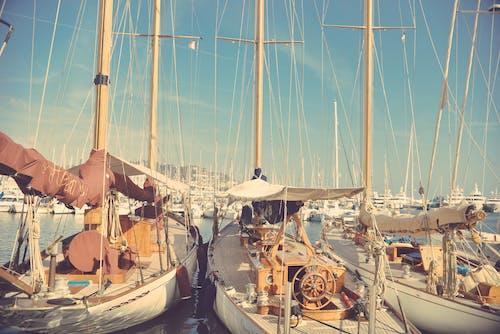 Δωρεάν στοκ φωτογραφιών με βάρκες, ιστιοφόρα πλοία, κρασί Πόρτο, μαρίνα