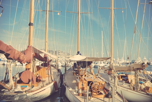 Free stock photo of boats, port, sailing ships, harbor
