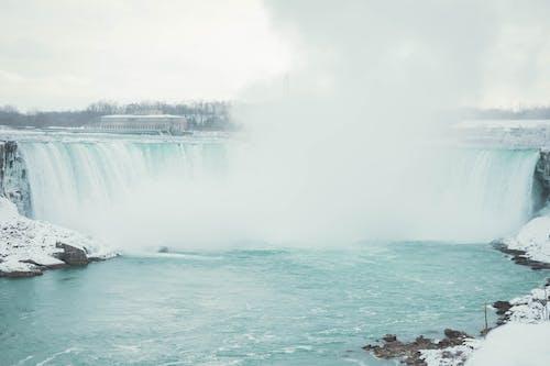 Fotobanka sbezplatnými fotkami na tému exteriéry, Kanada, Niagarské vodopády