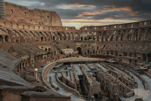 Free stock photo of amphitheater, ancient, arch