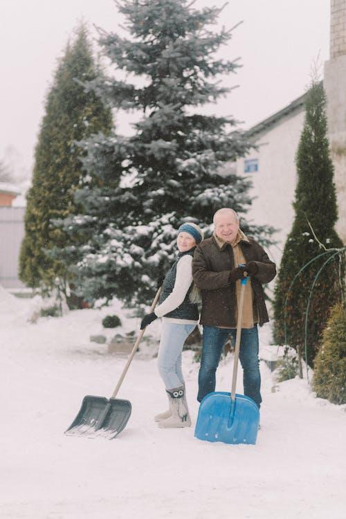 Photos gratuites de @extérieur, bonheur, couple de personnes âgées