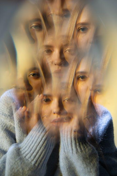 Foto profissional grátis de alucinação, consequência, dupla exposição