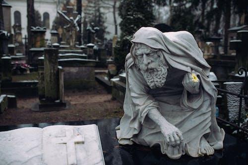 Free stock photo of art, burial, catholic