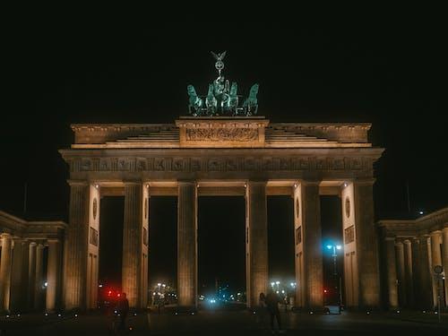 Free stock photo of berlin, brandenburgertor, gate