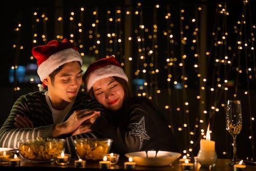 Fotos de stock gratuitas de árbol de Navidad, celebración, divertido, dorado