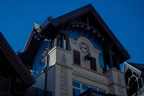 Free stock photo of art, blue sky, building