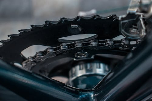 Free stock photo of bicycle, bike, chain, road bike