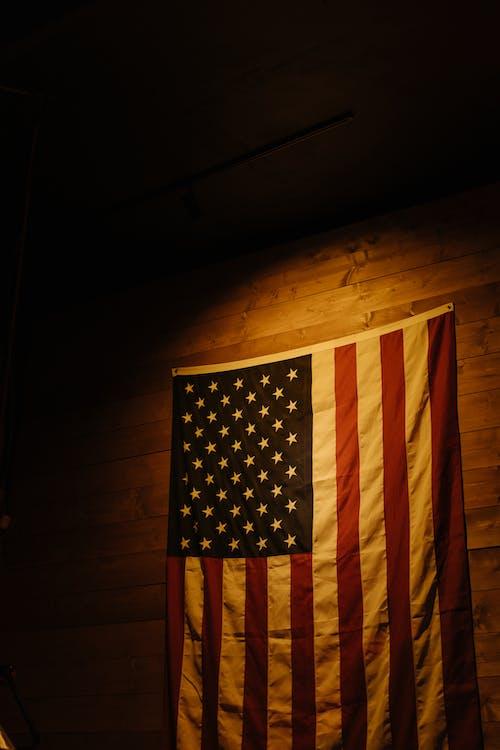 7月4日, Copyspace, アメリカの国旗の無料の写真素材