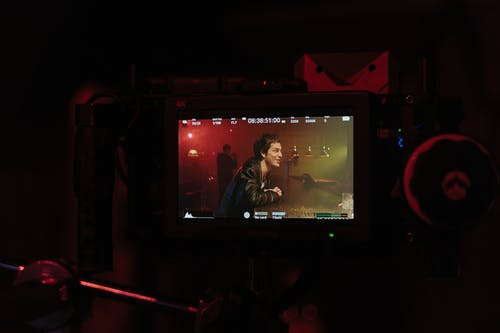 Free stock photo of action camera, american bar, backstage