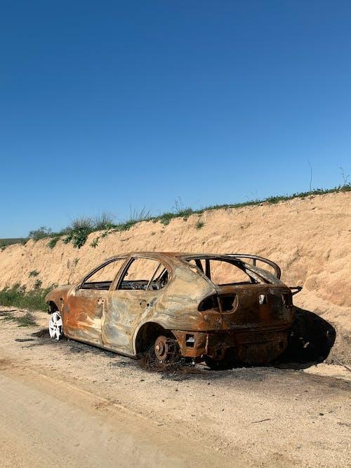 Fotos de stock gratuitas de accidente, accidente de coche, afuera