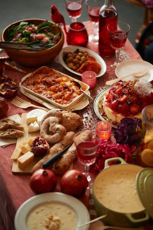 午餐, 感恩節, 晚餐, 碗 的 免费素材照片
